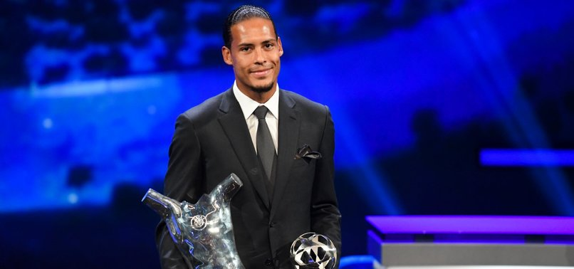 VAN DIJK, RONALDO, MESSI FINALISTS FOR FIFA PLAYER AWARD