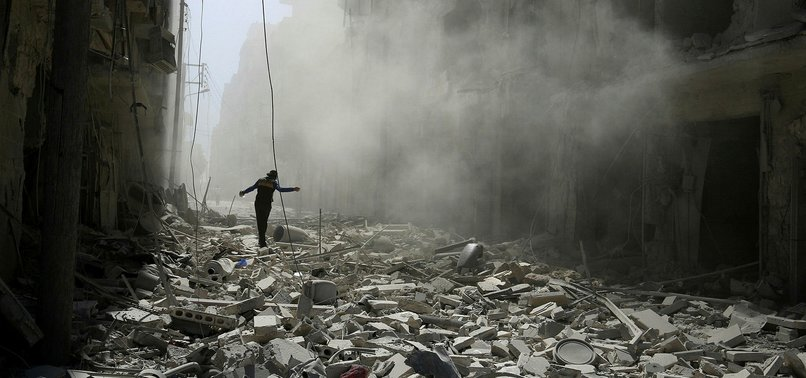 NEARLY 6000 SYRIAN CIVILIANS INCLUDING CHILDREN AND WOMEN KILLED IN 2 YEARS