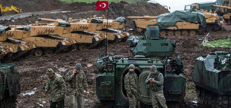 NEARLY 2,900 TERRORISTS NEUTRALIZED IN TURKEYS AFRIN OPERATION
