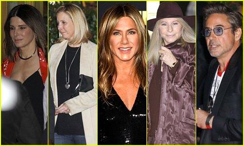 Jennifer Aniston'ın 50. yaş günü partisinden çok özel fotoğraflar