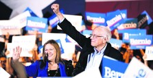 Sanders wins decisively in Nevada, Biden heads for 2nd-place finish