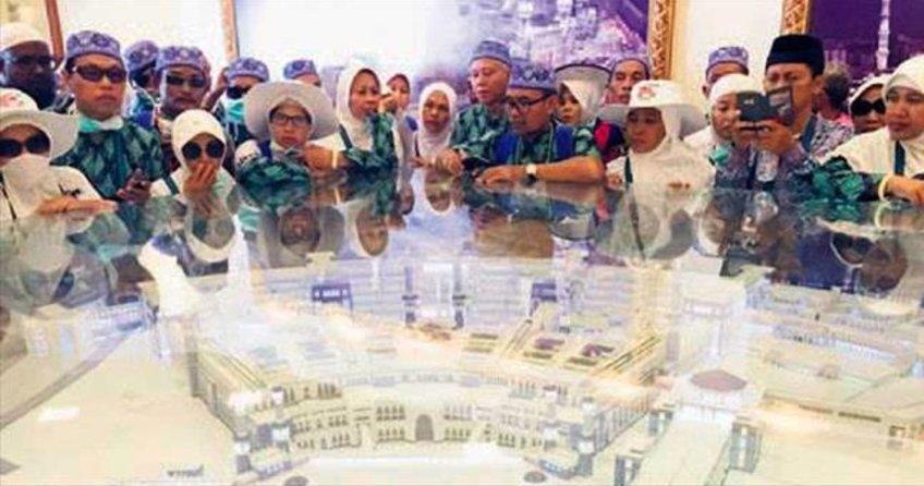 Hacı adayları Kâbe müzesine akın ediyor