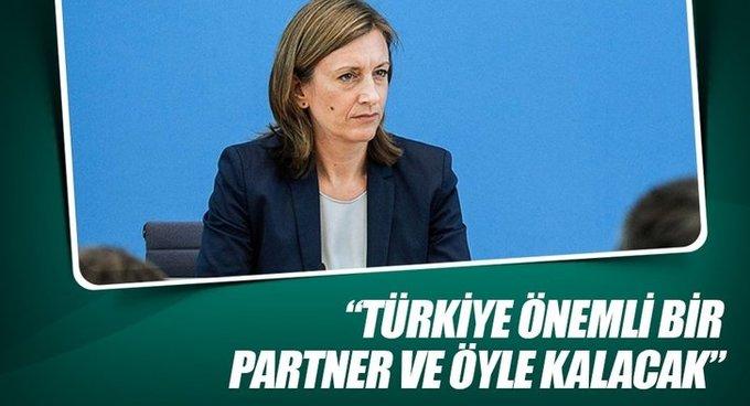 Demmer: Türkiye önemli bir partner ve öyle kalacak