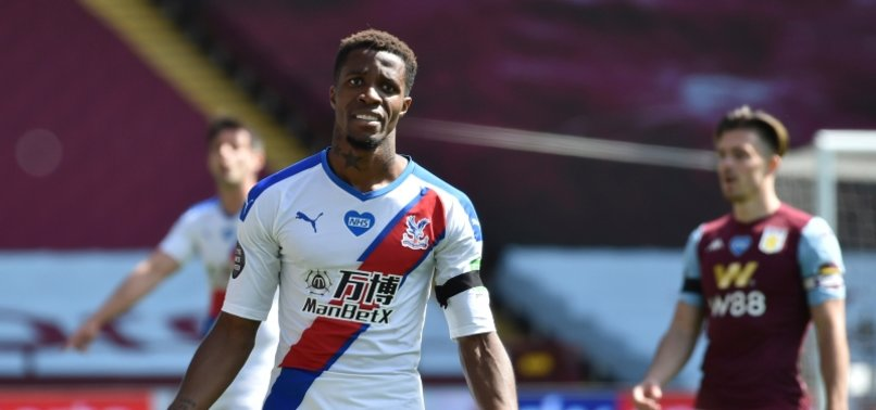 CRYSTAL PALACE PLAYER WILFRIED ZAHA RACIALLY ABUSED; 12-YEAR-OLD ARRESTED