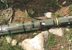 PKK'ya ait tanksavar füzesi bulundu