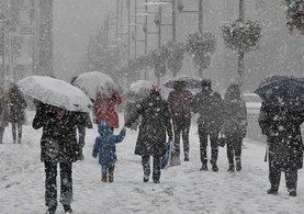 İstanbul'da kar yağışı ne zaman başlayacak? MGM saat verdi!