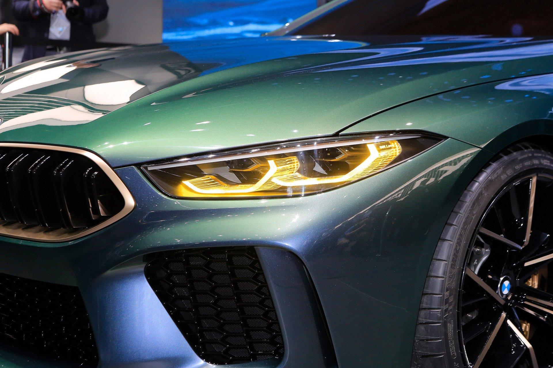 BMW M8 GRAN COUPE KONSEPTİ ORTAYA ÇIKTI