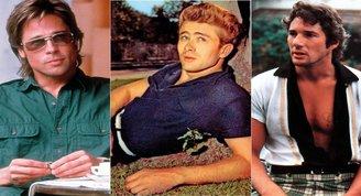 Stil üçlemesi: Brad Pitt, James Dean, Richard Gere