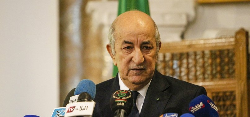 ALGERIA COUNCIL SELECTS 5 CANDIDATES FOR PRESIDENTIAL RACE