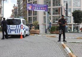 Alman Büyükelçiliği'nin önünde şüpheli paket alarmı!