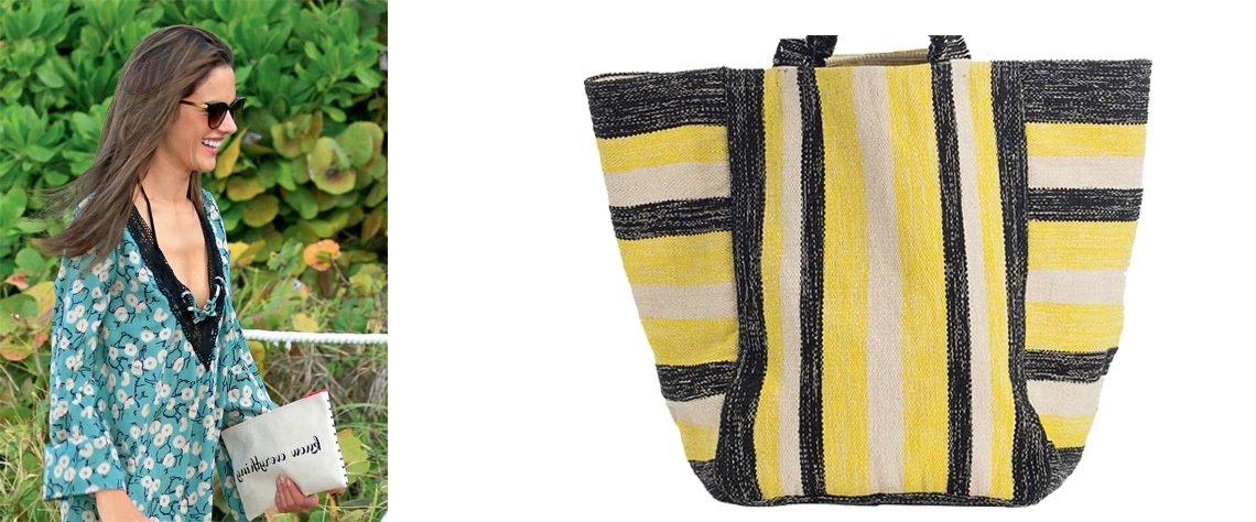 Birbirinden farklı aksesuarlarla, yazılarla, renk ve desenlerle bambaşka görünüm kazanan çantalar, bu yaz plaj stilinizin en önemli parçalarından olacak...