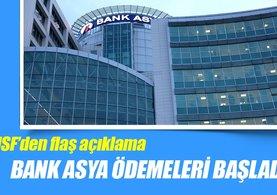 Bank Asya ödemeleri bugünden itibaren başladı