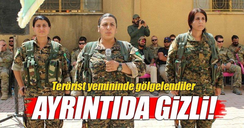 ABD askerleri terörist yemininde gölgelendiler!