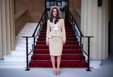 Keira Knightley, Buckingham Sarayında!