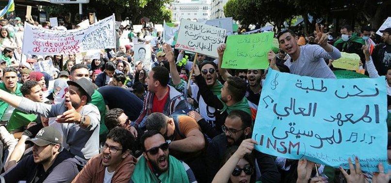 ALGERIA OPPOSITION ANNOUNCES PLAN TO BOYCOTT ELECTIONS