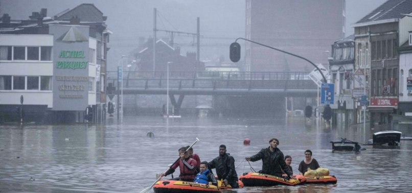 NINE DEAD AND FOUR MISSING FOLLOWING STORMS IN BELGIUM