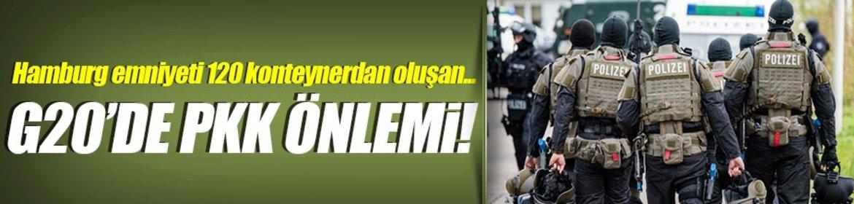 G20'de PKK önlemi