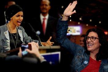 ABD'de tarih yazan iki Müslüman kadın