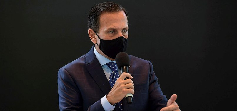 SAO PAULO GOVERNOR TESTS POSITIVE FOR CORONAVIRUS