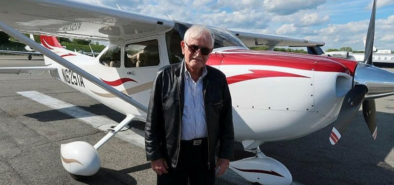 TURKISH PILOT, 84, STILL FLYING AMERICAN SKIES