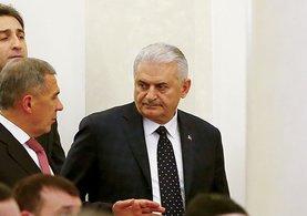 Başbakan Binali Yıldırım Tataristan'da olan Türk-Tatar iş forumunda bulundu