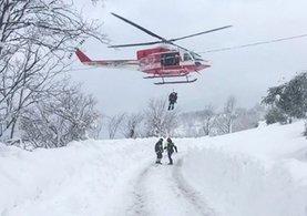 İtalya'nın Abruzzo bölgesinde uçak düştü