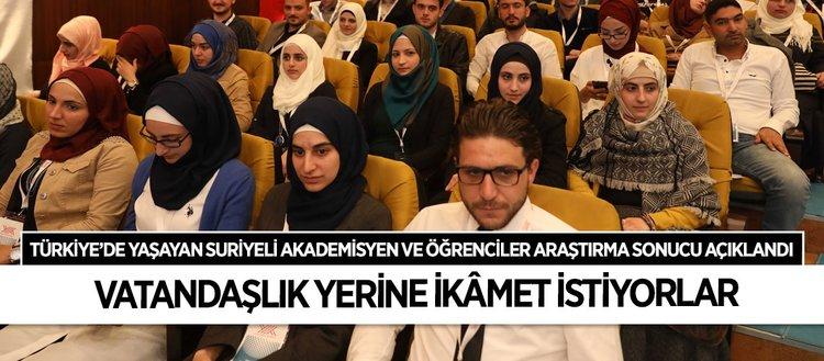 Türkiye'deki Suriyeli akademisyen ve öğrenciler araştırması