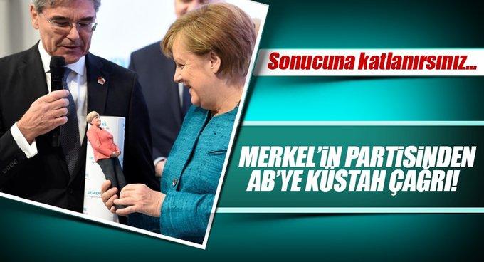 ABye Türkiye ile müzakereleri bitirin çağrısı