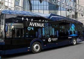 8 dakikada şarj olan Türkiye'nin ilk yüzde 100 yerli elektrikli otobüsü yola çıktı