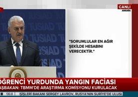 Başbakan Yıldırım: Meclis araştırma komisyonu kurulacak