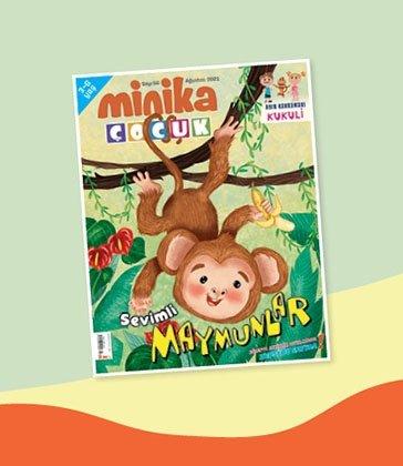 01.08.2021 Minika Çocuk Dergi - Sayı: 56