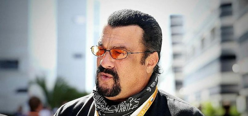 Steven Seagal comes to...