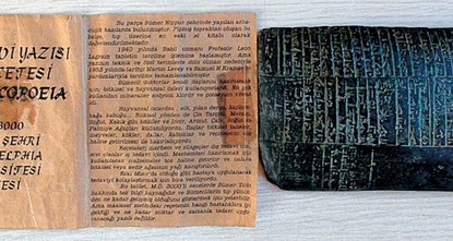 A medical prescription belonging to the Sumerians has been seized by the Police Department in Diyarbakır. The cuneiform script is considered the to be the oldest medical handbook in the history of...