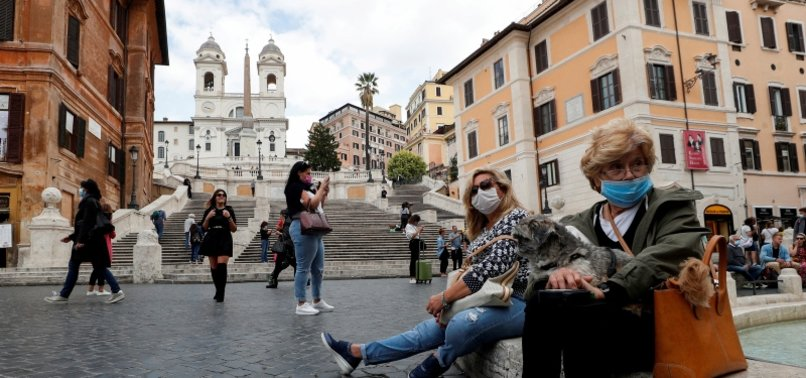 ITALYS DAILY CORONAVIRUS COUNT BREAKS NEW RECORD WITH 8,804 CASES