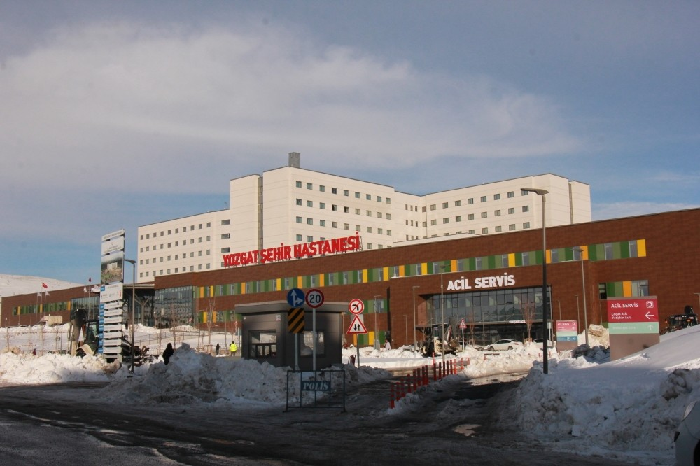 u201cCity hospitalu201d in Yozgat offers a modern healthcare complex for this small Anatolian city.