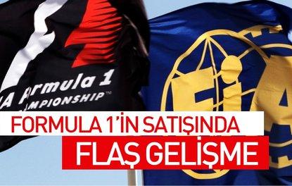 FORMULA 1'İN SATIŞINDA FLAŞ GELİŞME