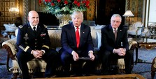 Tumult engulfs White House, Trump jokes 'who's next?'