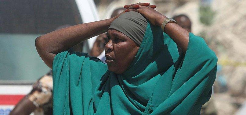9 KILLED IN SUICIDE CAR BLASTS IN SOMALIA
