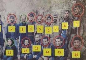 Terör örgütü PKK'nın üst düzey 16 yöneticisinden 9'u öldürüldü