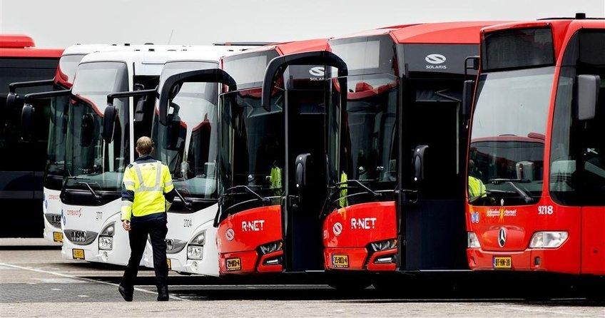 Otobüs şoförleri haklarını aldı