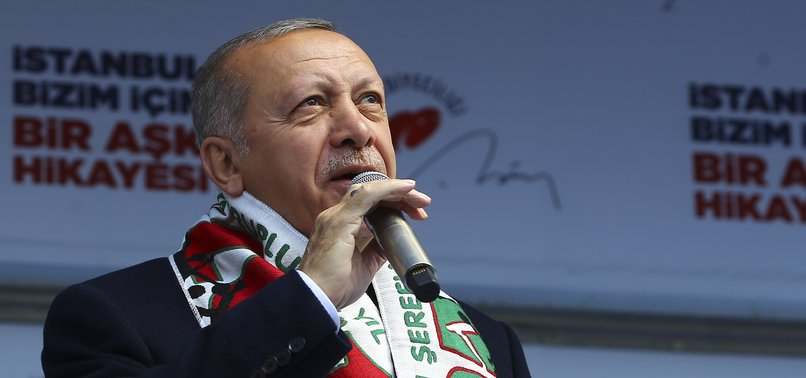ERDOĞAN SAYS TURKEY WILL SOLVE SYRIA ISSUE AFTER LOCAL ELECTIONS