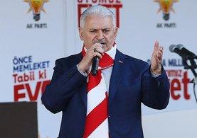 Başbakan Binali Yıldırım flaş açıklama!