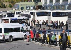 Bakanlık'tan bayram yoğunluna karşı otobüs takviyesi!