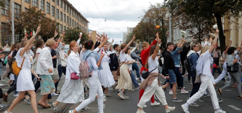 OVER 2,000 MORE DETAINED AMID PROTESTS IN BELARUS