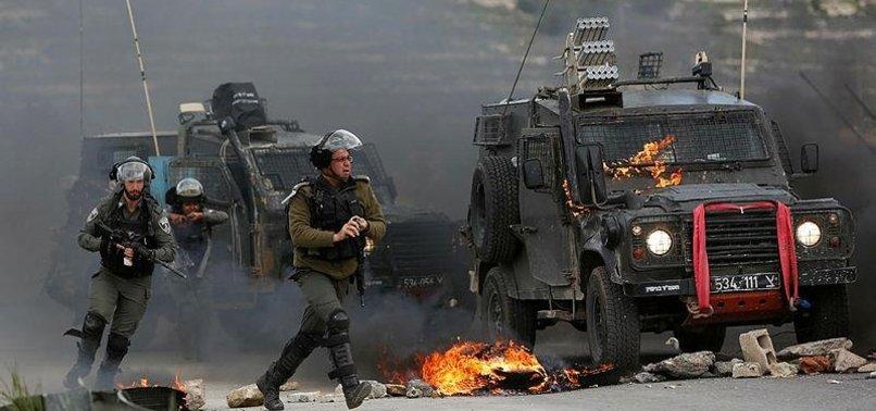 3 PALESTINIANS INJURED BY ISRAELI TROOPS IN WEST BANK