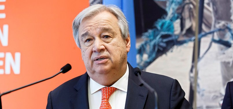 UN CHIEF GUTERRES DEPLORES GAZA VIOLENCE AFTER ISRAEL KILLS 62