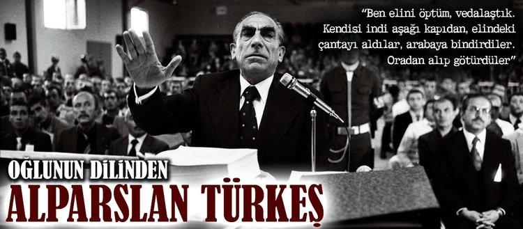 Oğlunun dilinden Alparslan Türkeş
