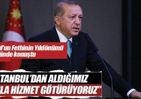 Cumhurbaşkanı Erdoğan: İstanbul her anlamda ülkemizin vitrinidir