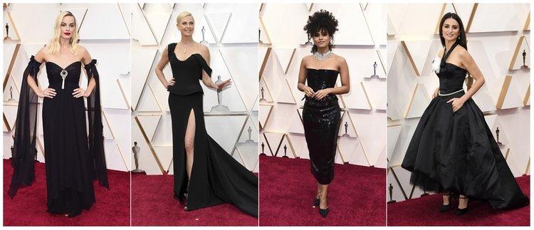 92. Oscar Töreni'nde ortaya çıkan renk trendleri