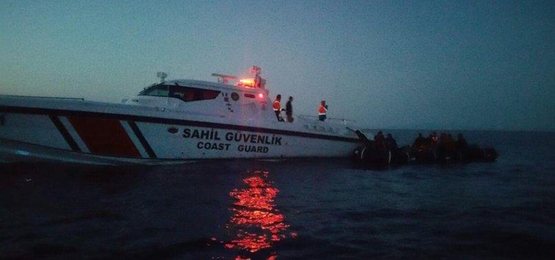 55 IRREGULAR MIGRANTS HELD ON SHIP IN AEGEAN SEA